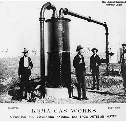 Roma gas works
